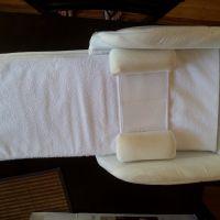 搾乳器、おんぶ紐、新生児用持ち運び用ベッド