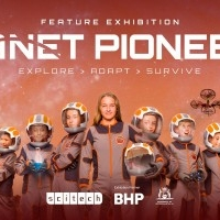 Scitech Planet Pioneers Exhibition